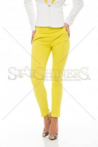 Pantaloni PrettyGirl Taking Yellow