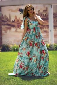 Rochie Artista Floral Reason Mint