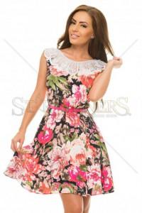 Rochie LaDonna Flowers Delight Pink