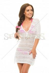 Rochie Mexton Summer Time White
