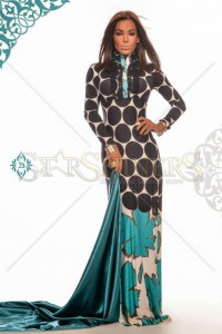 Rochie MissQ Bold Hearted Turquoise
