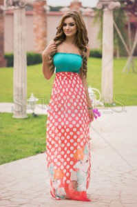 Rochie MissQ Sweet Bunny Coral