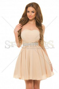 Rochie PrettyGirl Differently Cream