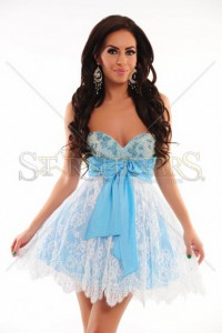 Rochie Sherri Hill Radiant Glamour Blue