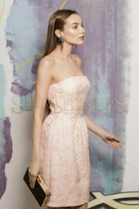 Rochie Simple Elegance Peach