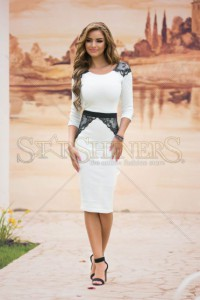 Rochie StarShinerS Believing White