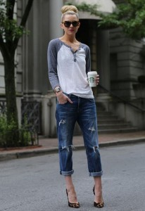 baggy jeans sport chic 4