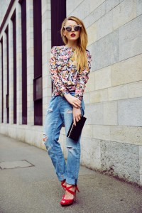 baggy jeans tinuta influente feminine