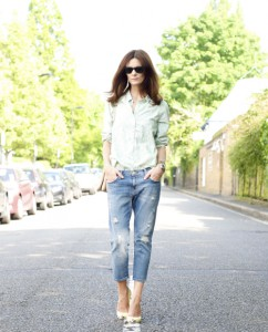 baggy jeans tinuta office 3