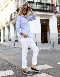 baggy jeans tinuta office 4