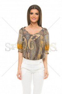 Bluza PrettyGirl Abstraction Brown