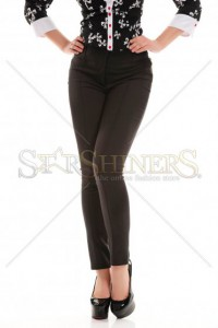 Pantaloni Artista Lovely Fit Black