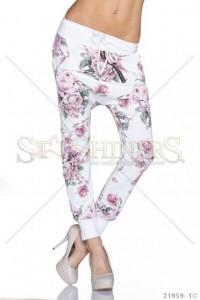 Pantaloni Dynamic Movement White