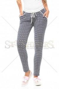 Pantaloni Fofy Digital Look DarkBlue