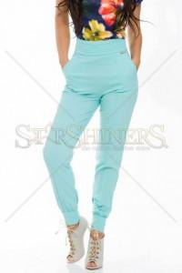 Pantaloni PrettyGirl Cosy Look Mint