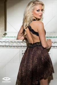 Rochie Mexton Basic Kiss Brown