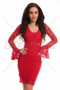 Rochie PrettyGirl Attribute Red