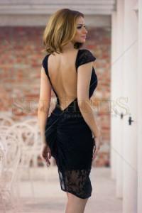 Rochie PrettyGirl Charming Style Black