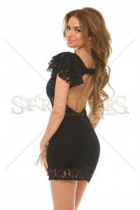 Rochie PrettyGirl Laced Light Black