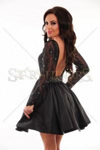 Rochie Sherri Hill 21215 Black