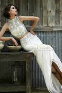 Set Sherri Hill 11201 White