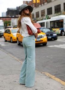 pantaloni evazati 70s style 2