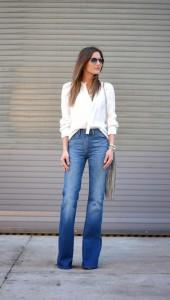 pantaloni evazati office style 5
