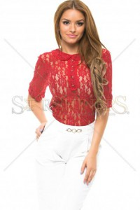 Bluza PrettyGirl Lace Type Red