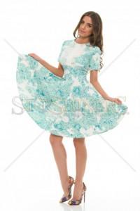 Rochie Artista Dressy Design Turquoise