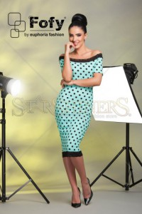 Rochie Fofy Adorable Design Mint