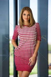 Rochie Fofy Pleased Woman Burgundy