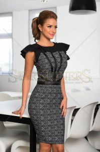Rochie LaDonna Dreamy Elegance Black