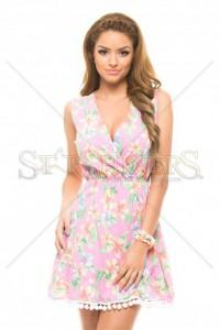 Rochie PrettyGirl Floral Pink