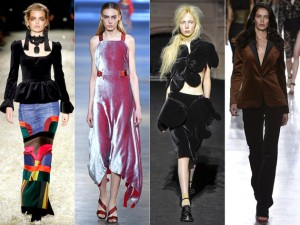 embedded-velvet-trend-london-fashion-week