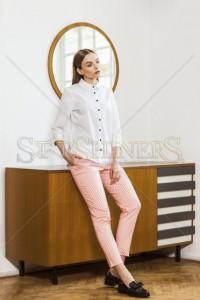 Camasa Simple Lady White