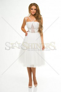 Rochie Ana Radu Infinite Escape White