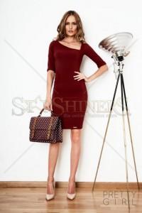 Rochie PrettyGirl Sublime Wish Burgundy