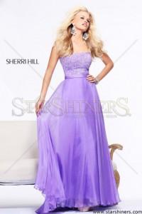 Rochie Sherri Hill 21038 Lila