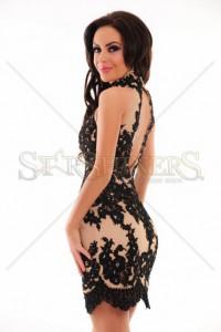 Rochie Sherri Hill 21186 Black