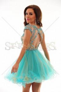 Rochie Sherri Hill 21304 Blue
