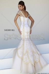 Rochie Sherri Hill 21369 White