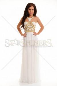 Rochie Sherri Hill 9739 White