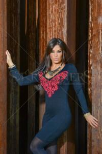 Rochie MissQ Butterfly Spread Red