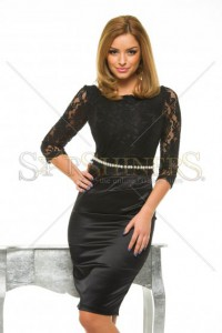 Rochie StarShinerS Gallantly Black