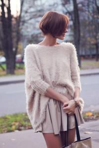 pulover pufos tinuta feminina 2